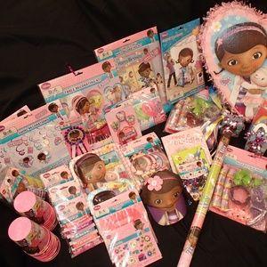 Other - Birthday Party Mega Bundle Doc McStuffins (54 PCS)